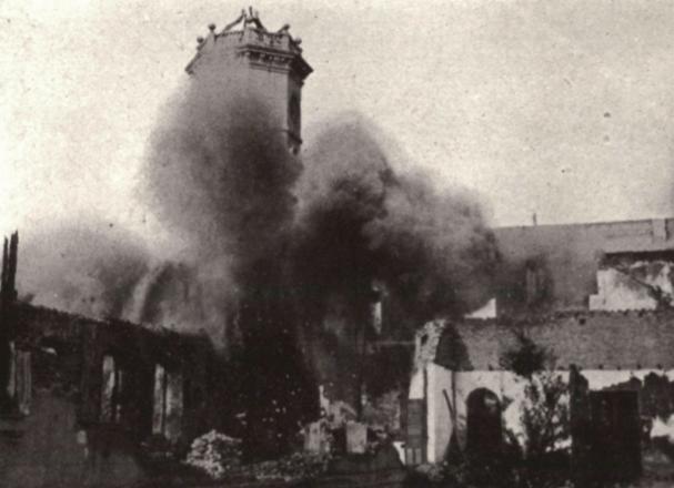 Explosion de los hornillos